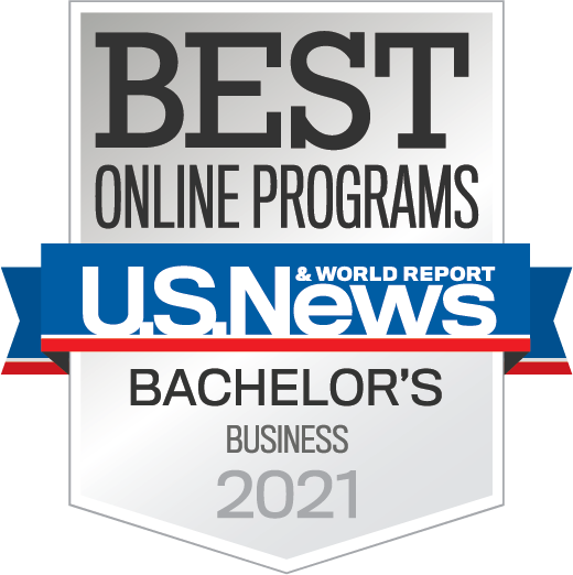 2021 U.S. News & World Report Best Online Bachelor's in Business