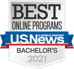 2021 U.S. News & World Report Best Online Bachelor's