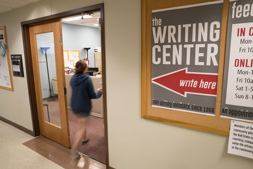 Entering the Writing Center