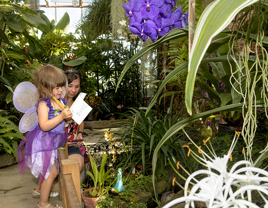 The Dr. Joe and Alice Rinard Orchid Greenhouse