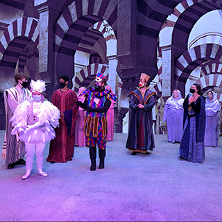 Ball State Opera Theatre performing The Magic Flute