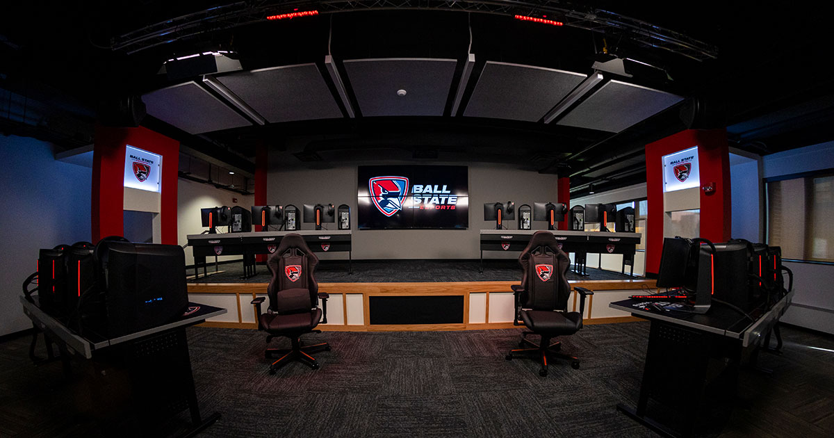 Ball State University To Host Ribbon Cutting Ceremony  For State-Of-The-Art Esports Center